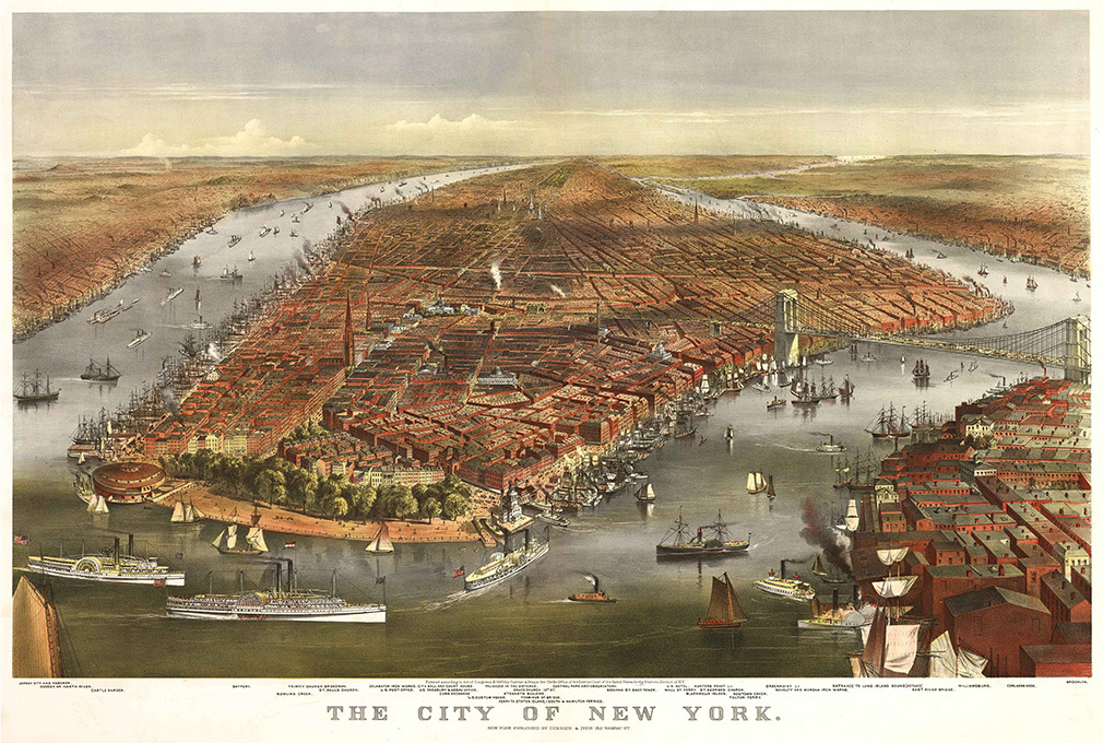 City of New York, Irish Curley concentration